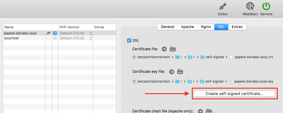 Mamp Pro Os X Trusted Ssl Certificate On Local Development
